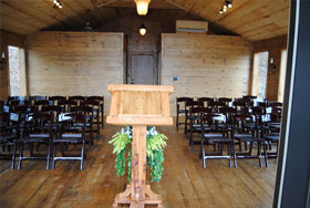 Eurek Springs Riverview Wedding Chapel