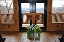 Eureka Springs Riverview Wedding Chapel
