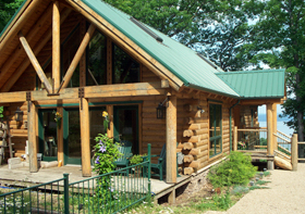 Ozark Mountain & Lake Log Homes