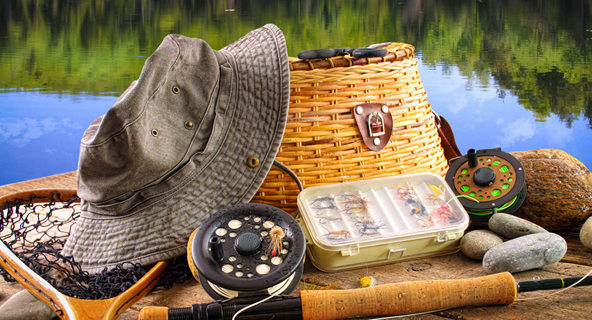 fishing and camping supplies